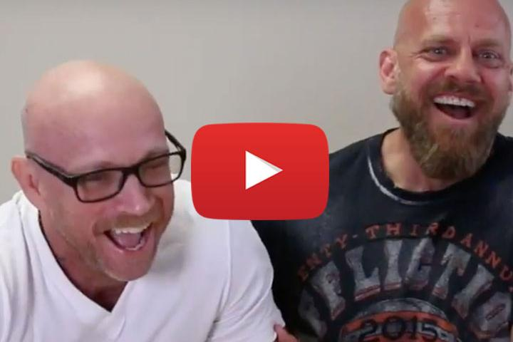 Funny Men Buck and Steve & New Toys from The Buck Angel® FTM Line