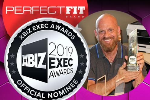 Perfect Fit Brand Gets 2019 XBIZ Award Nomination