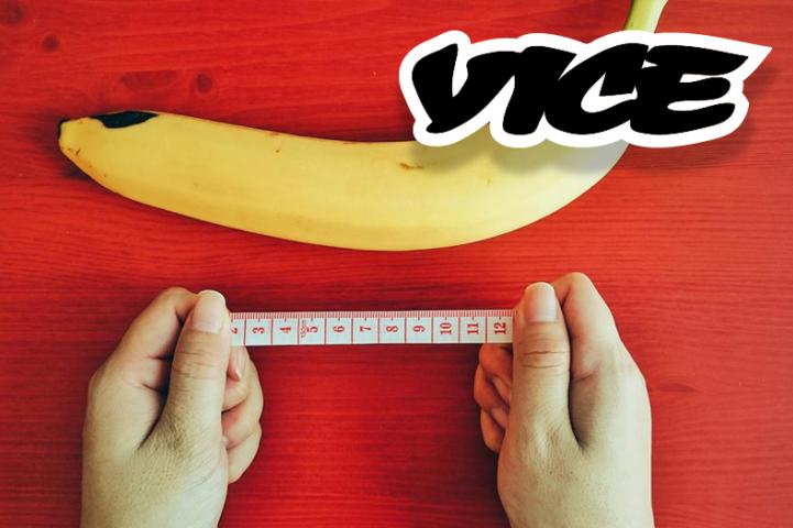 Good News Men! Vice.com Says You're Actually Bigger Than You Think You Are!