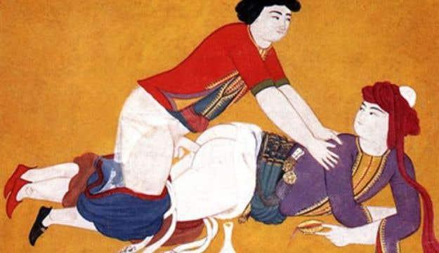 18th Century Ottoman illustration