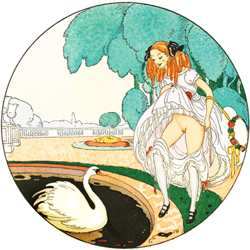 Gerda Wegener illustration