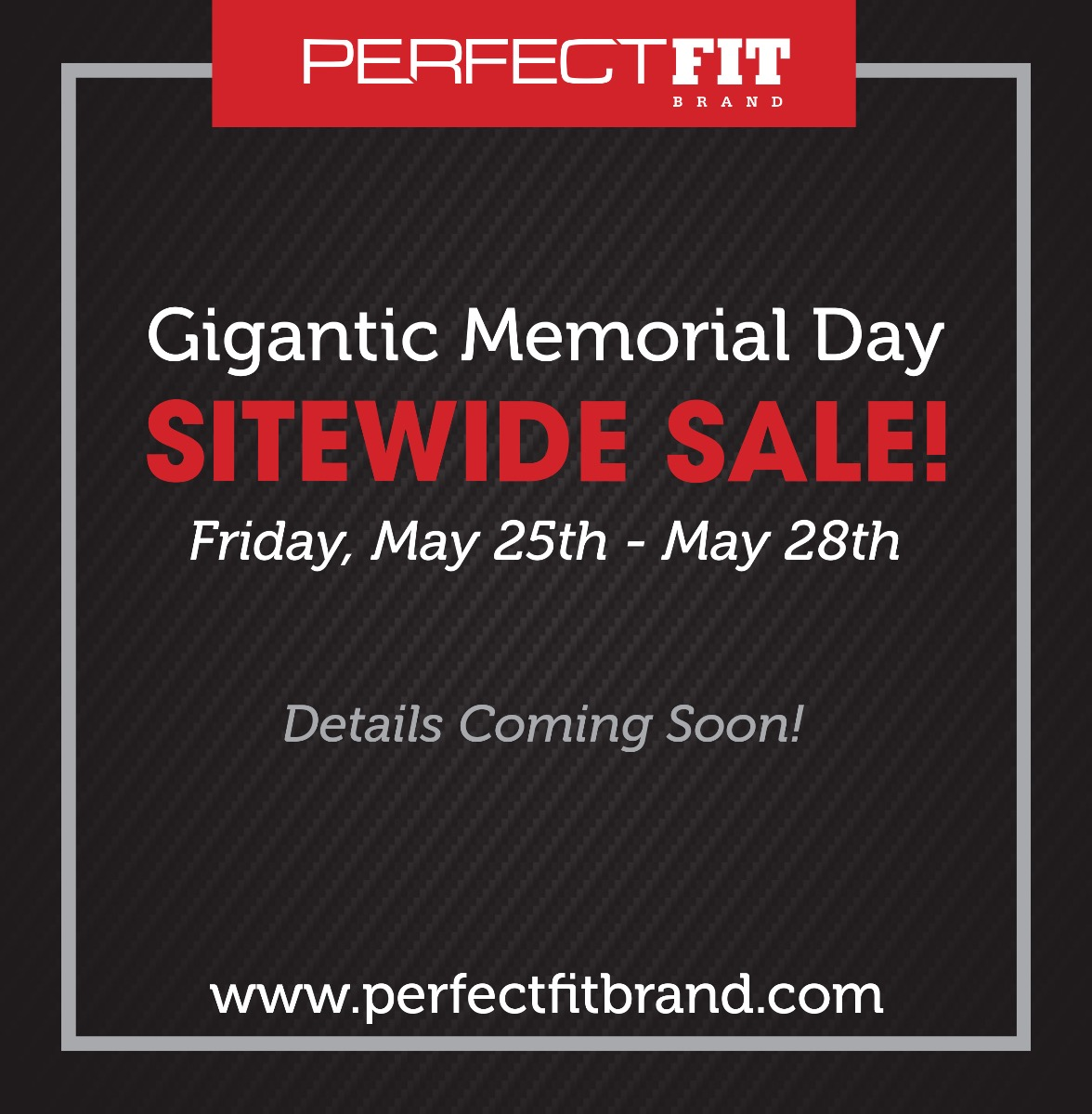 Perfect Fit Brand IML sitewide sale
