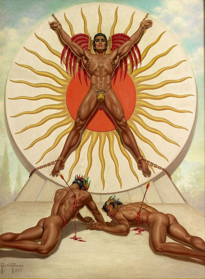 Aztec Sacrifice by George Quaintance