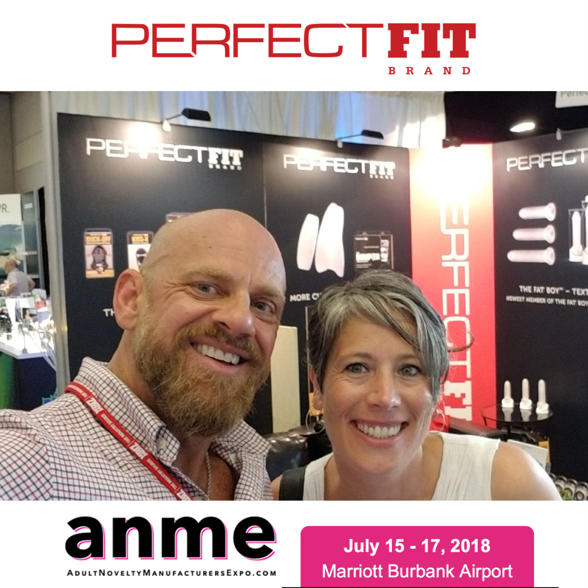 Perfect Fit Brand at ANME July 2018