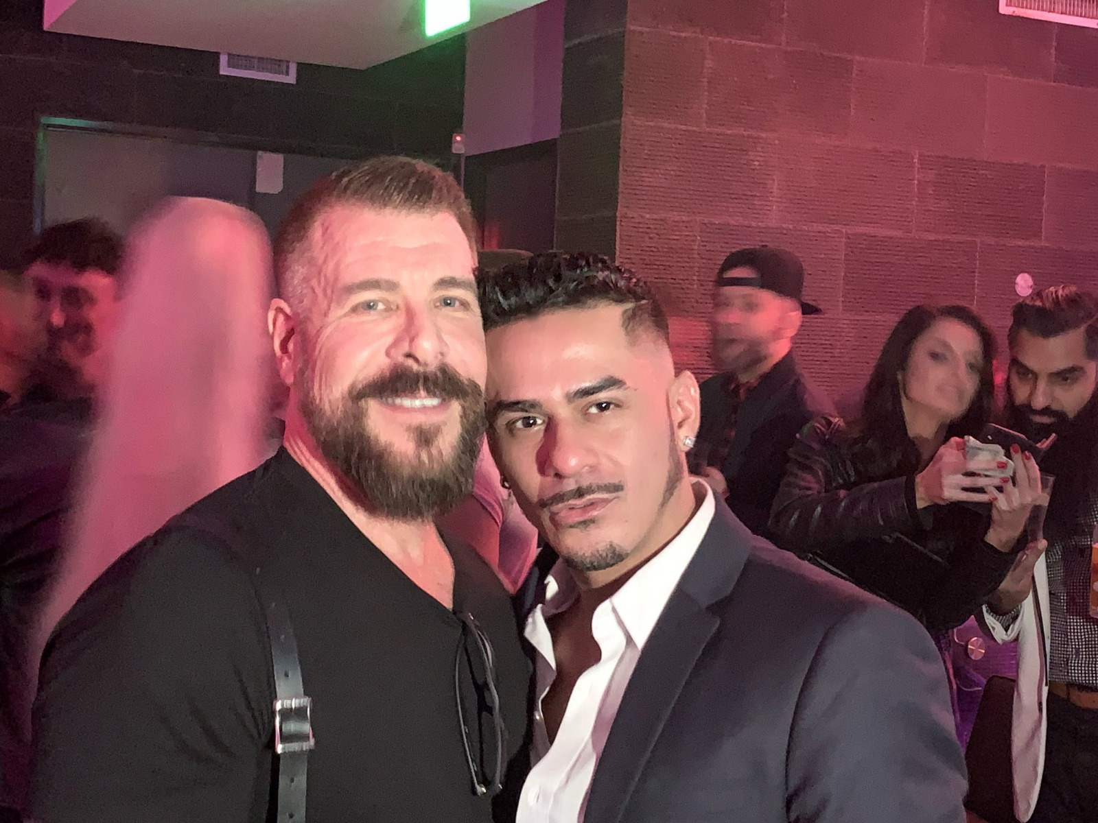 Rocco Steele and Cesar Xes
