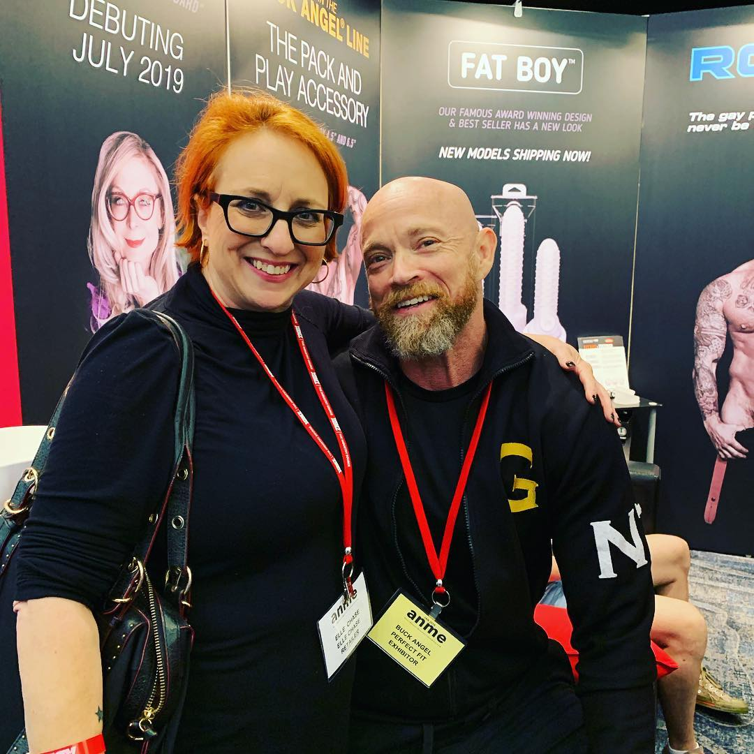 Elle Chase and Buck Angel