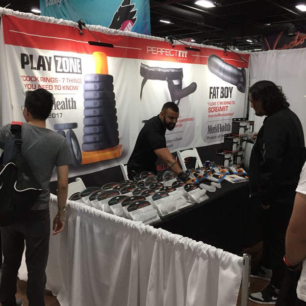 The Perfect Fit booth at Sex Expo 2018