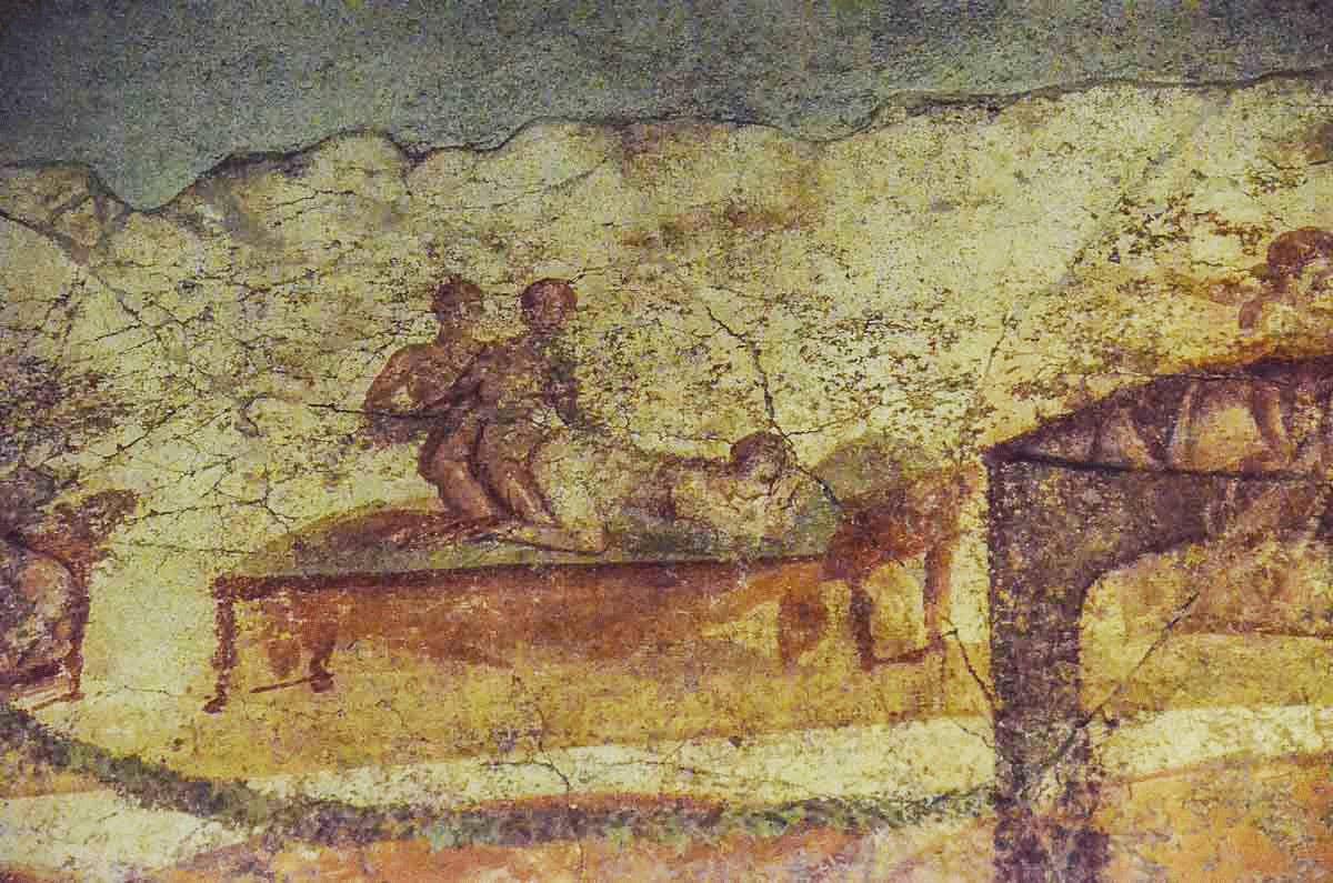 Erotic Mural Pompeii