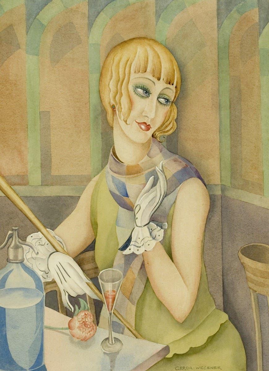 Lili Elbe by Gerda_Wegener