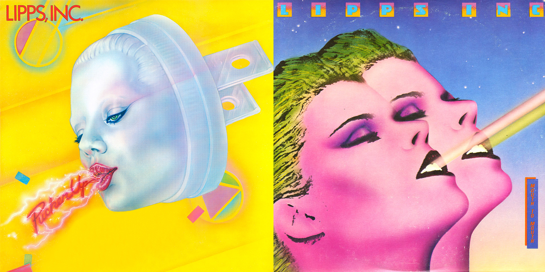 Lipps Inc cover art by Pater Satos