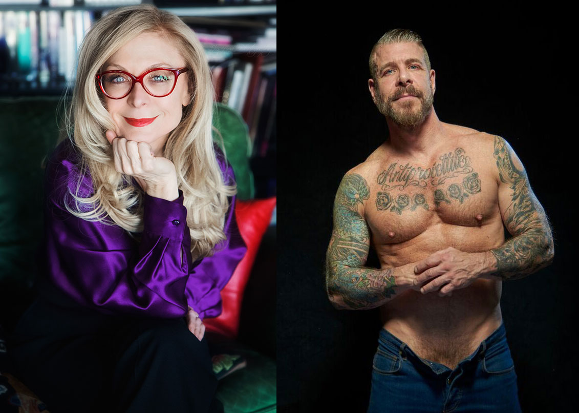 Nina Hartley and Rocco Steele - Photos courtesy of Nina Hartley and Rocco Steele
