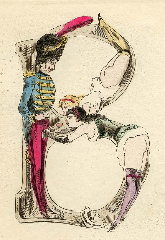 Joseph Apoux Alphabet Erotic