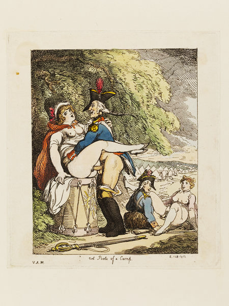 Thomas Rowlandson Out Posts of a Camp