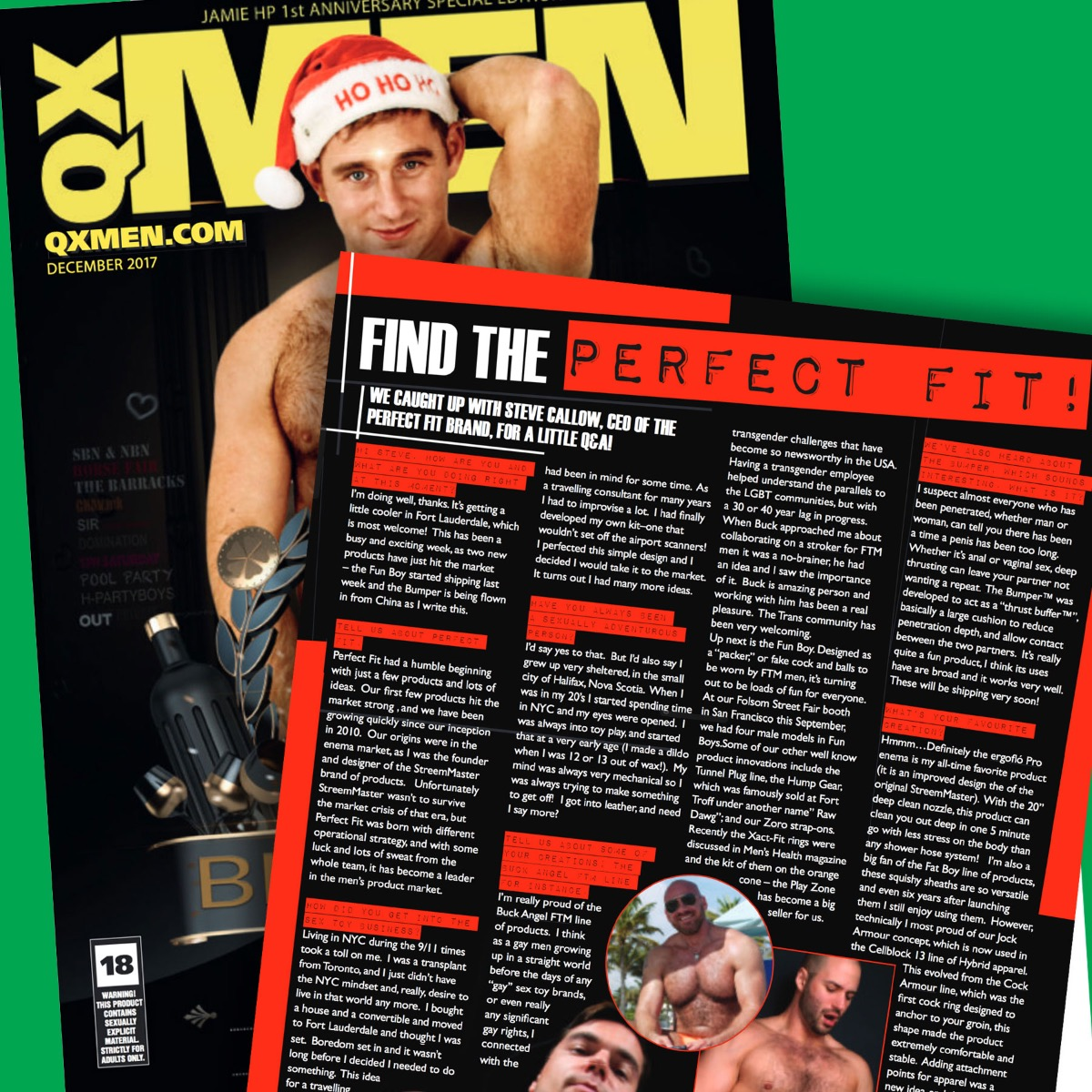 Perfect Fit Brand CEO Steve Callow Interview in QXMEN