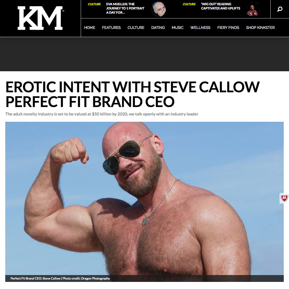 Perfect Fit Brand CEO Steve Callow Interview on Kinkster.nyc