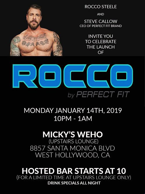 ROCCO™ by Perfect Fit Brand launch