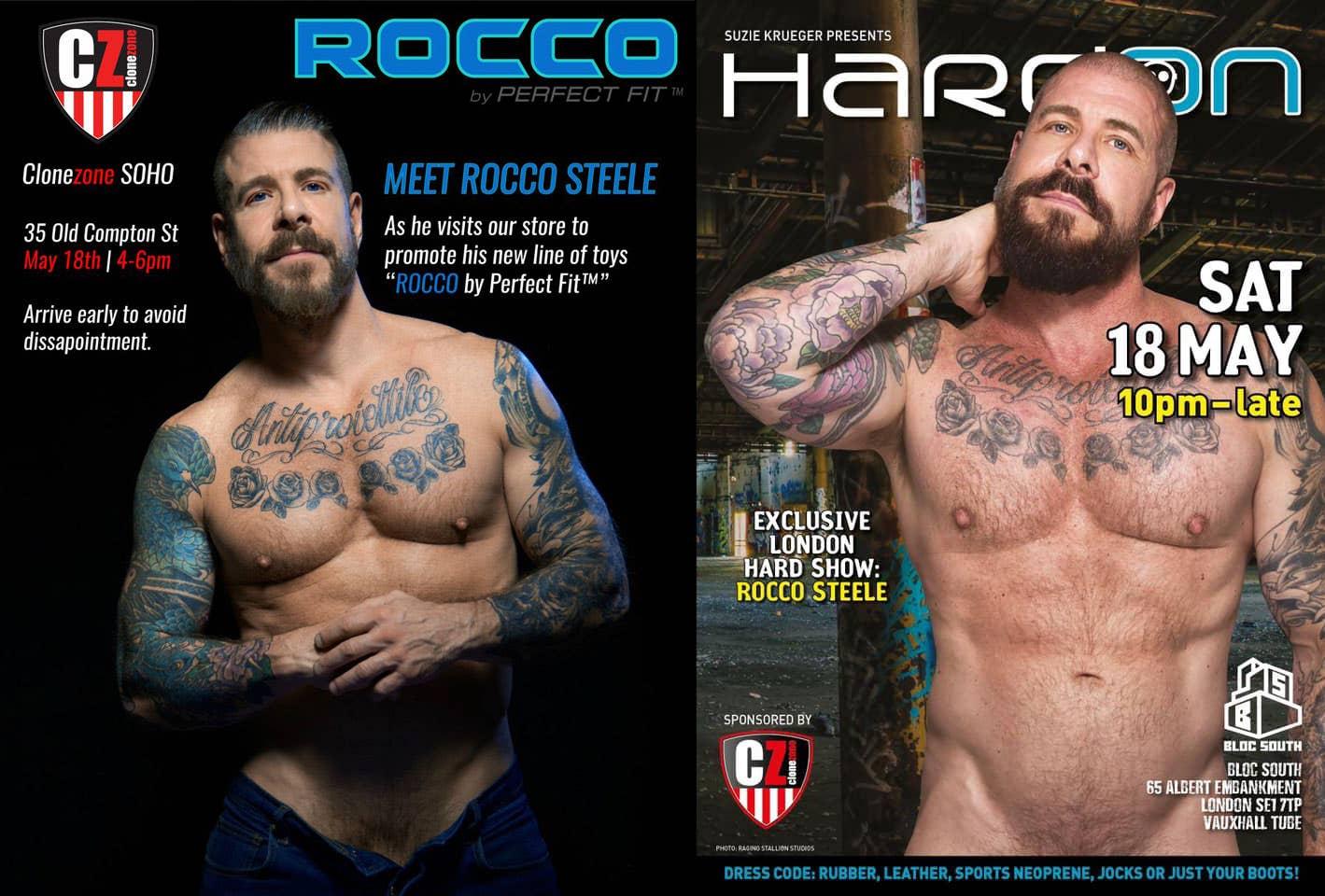 Rocco Steele Clonezone HardOn