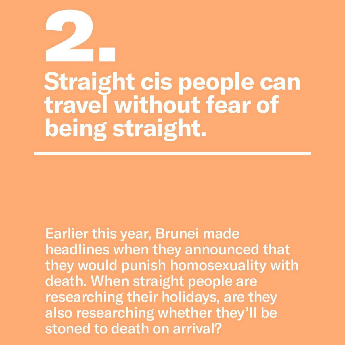 "9 Reasons There Doesn't Need to be a ""Straight Pride"""