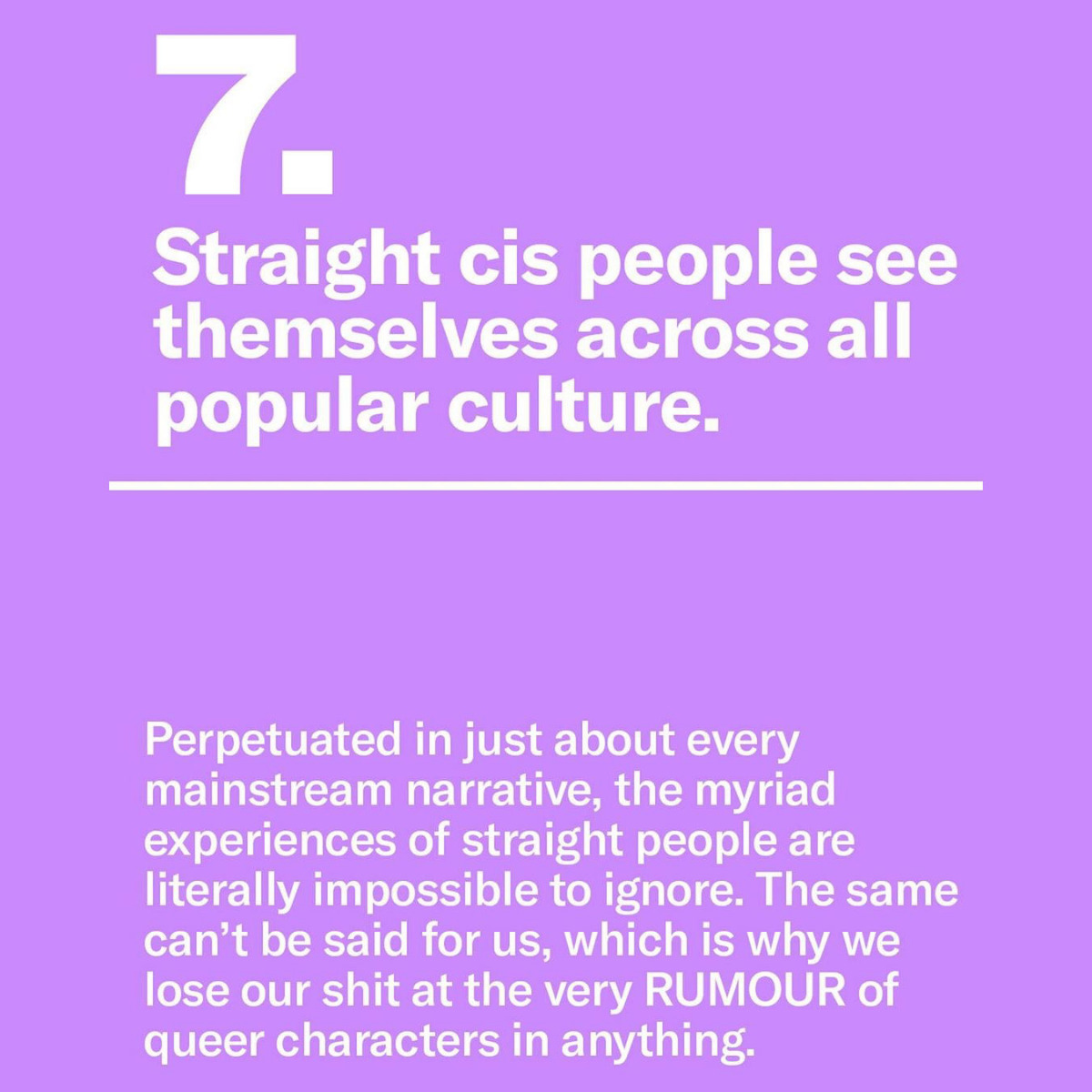 """9 Reasons There Doesn't Need to be a """"Straight Pride"""""""