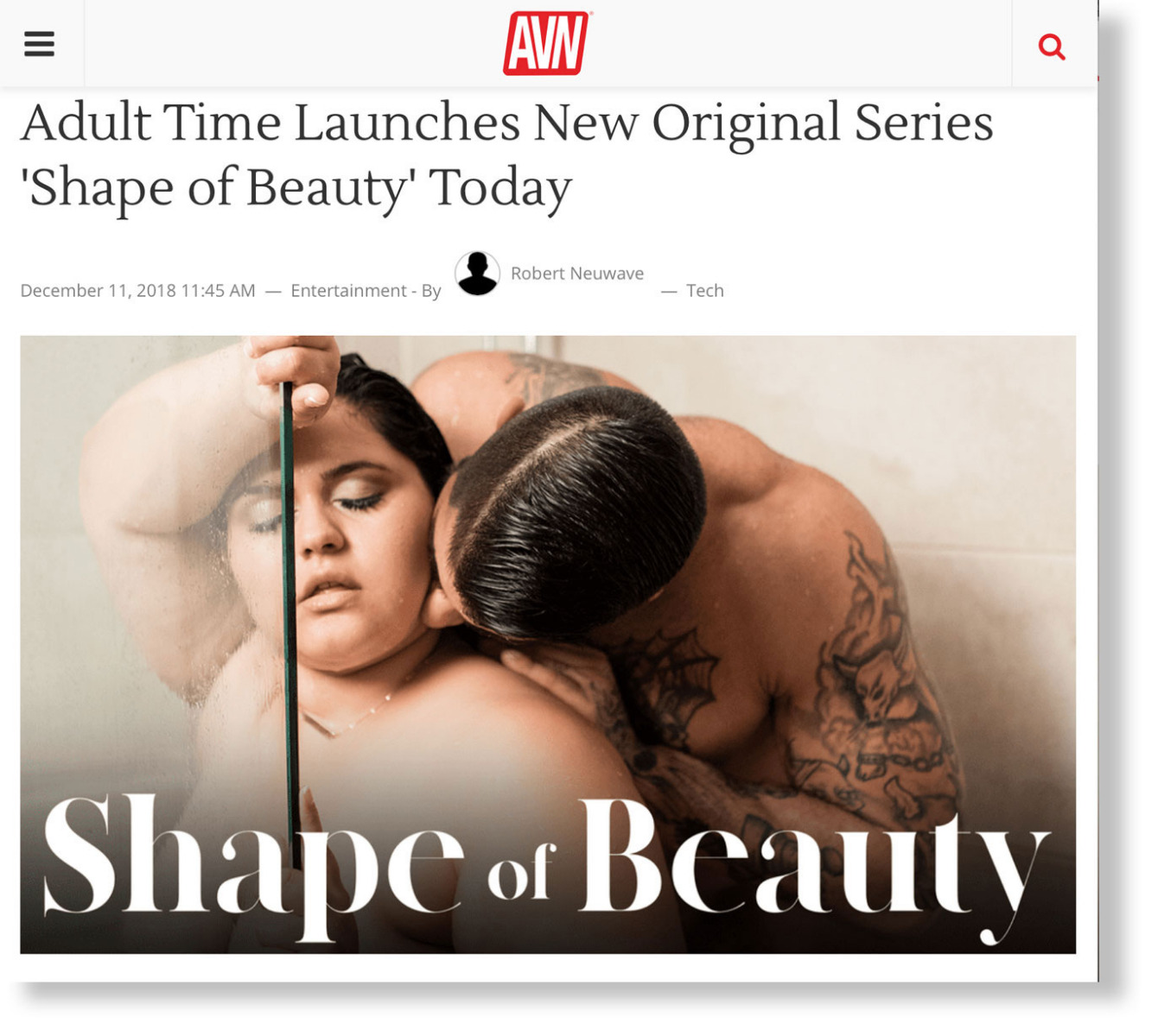 AVN Shape of Beauty