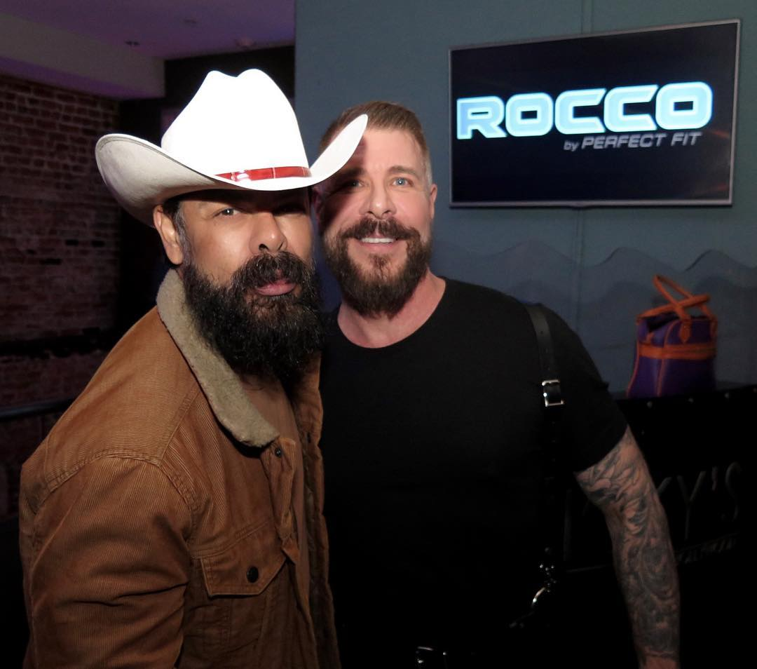 Stefano Rosso and Rocco Steele