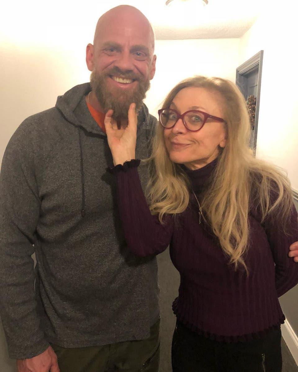 Steve Callow and Nina Hartley