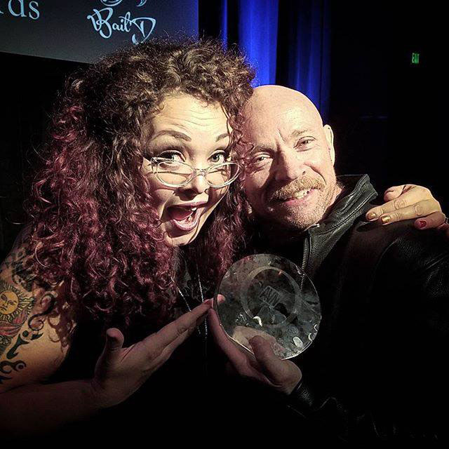 Sunny Megatron and Buck Angel O Award