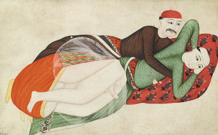 Two Erotic Scenes by Abdullah Bukhari