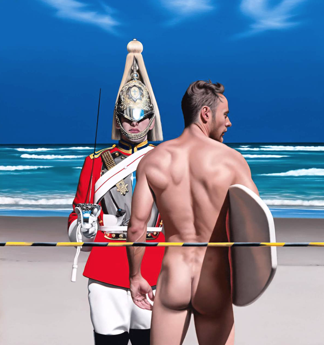 Two Life Guards by Ross Watson