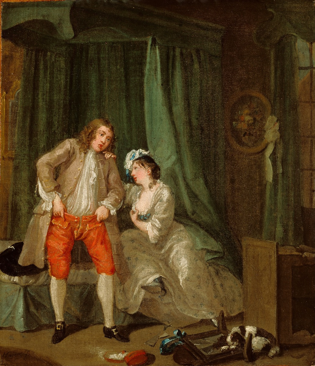 "William Hogarth, ""After"", 1730-1."