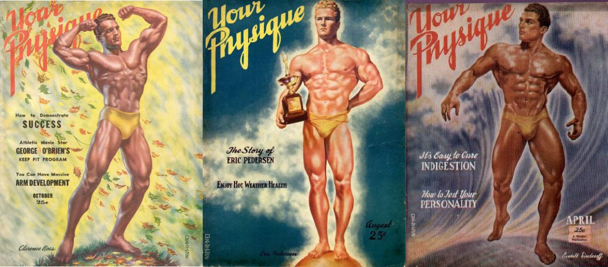 Your Physique covers by George Quaintance